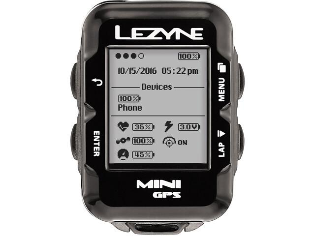 Lezyne Mini GPS Fahrradcomputer schwarz